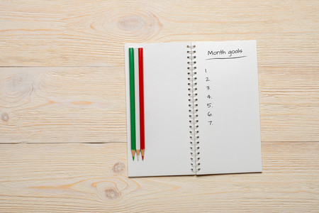 numeric: month goals numeric list
