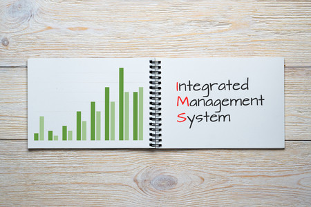 integrated management system bar chart concept
