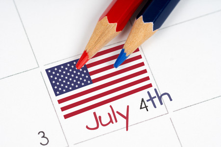 calendario julio: la cuarta parte de julio y el calendario l�piz