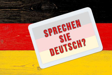 deutsch: sprechen sie deutsch