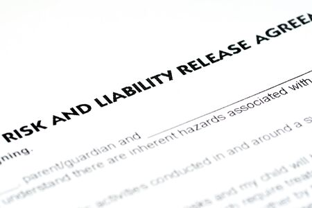 risk and liability release agreement