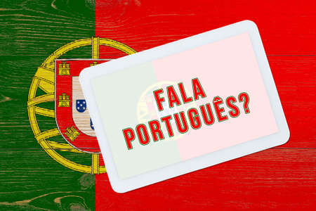 fala portugues - do you speak portugal, question in portugal language