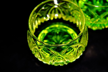 bout: absinth in crystal glass