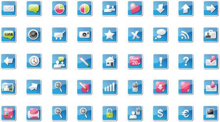 Proton web icons, mixed edition