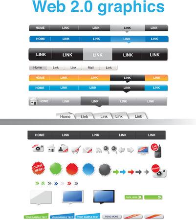 Web 2.0 graphics