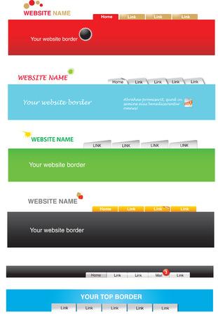 navigation object: Web templates