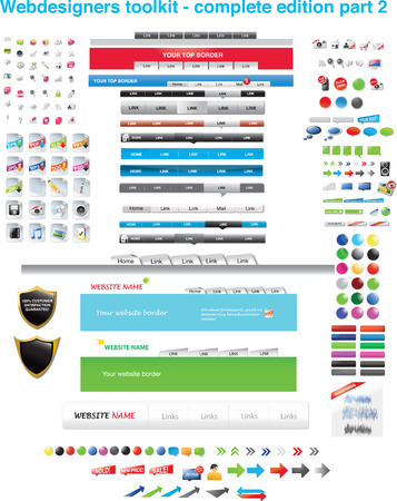 Webdesigners toolkit - complete collection part 2