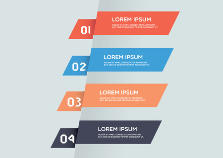 instruction manual: Modern infographic template