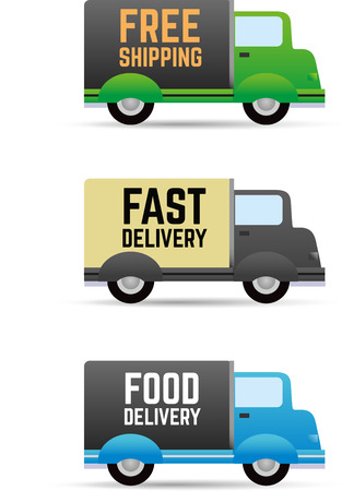delivery van: Free shipping - Fast delivery
