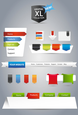 download button: Web graphics