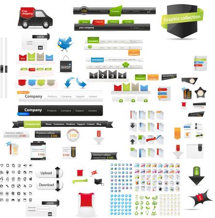 Graphiques Web Banque d'images - 33003506