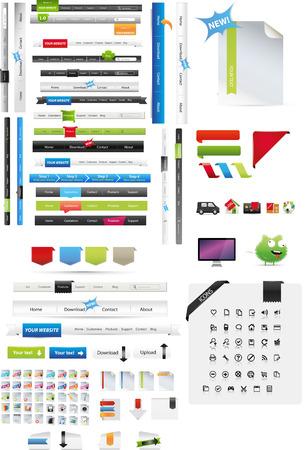 web buttons: Web graphics