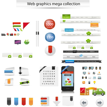 Web graphics Vector