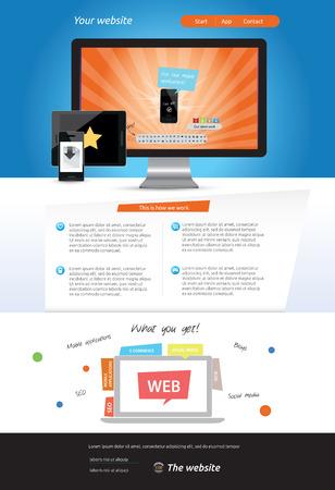 web template: Web template