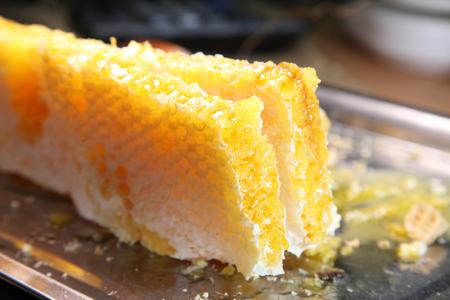 Honeycomb, honey. Products of beekeeping.