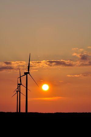 wind turbine on sunny day Stock Photo - 6739920