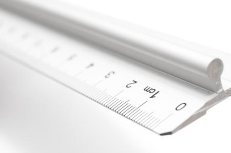 an image of ruler close up