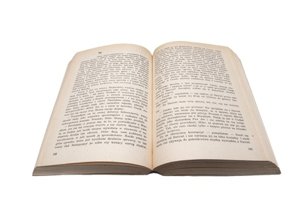 classics: an image of opne old book