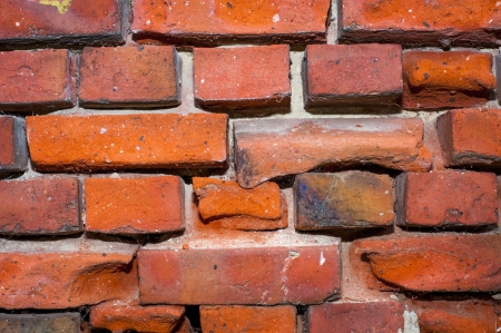 An image of high quality red brick wall photo