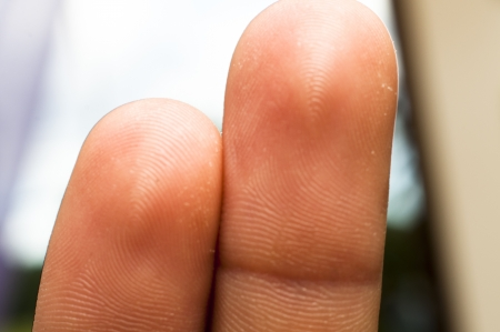 An image of two fingers Stock Photo - 16328560