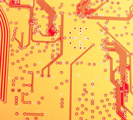 electronic circuit: An image of microchip background - technology concept