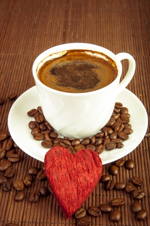 an image of cup of coffee photo