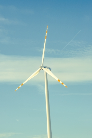 An image of Windturbine generator photo