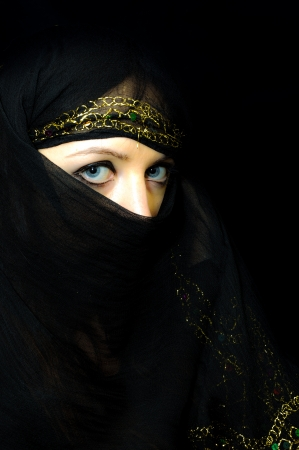 An image of arabian girl Stock Photo - 16644489