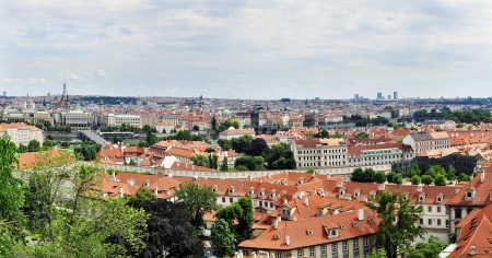 An image of city of Prague details photo