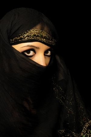 An image of arabian girl photo