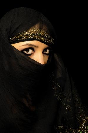 fille arabe: Une image d'une jeune fille arabe Banque d'images
