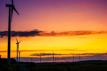 An image of wind farm Stock Photo - 16776104