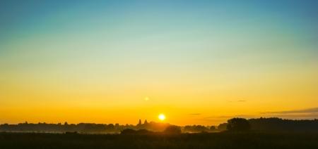An image of landscape during spring Standard-Bild