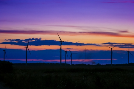 windturbine: An image of wind farm