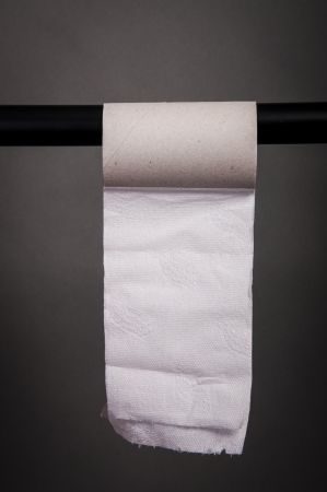 An image of empty toilet paper roll Stock Photo - 17295482