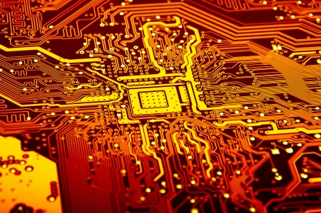 An image of macro shoots of motherboard Stock Photo - 17428177