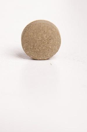 sedative: An image of sedative pills on white background Stock Photo
