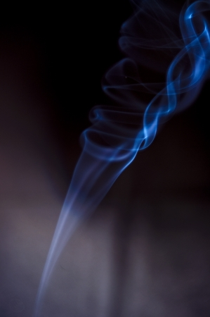An image of smoke on black background Stock Photo - 18292412