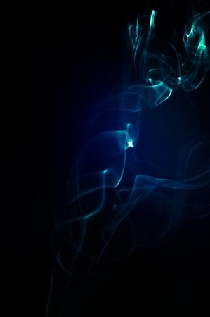 An image of smoke on black background Stock Photo - 18292439