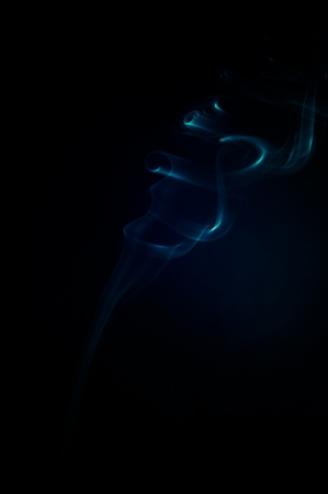 An image of smoke on black background Stock Photo - 18292486