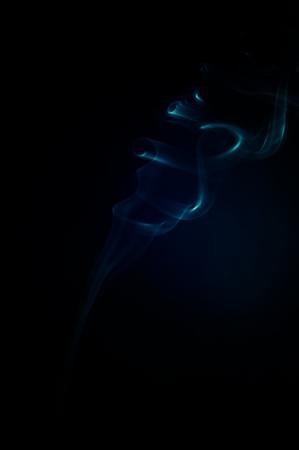 An image of smoke on black background Stock Photo - 18292486