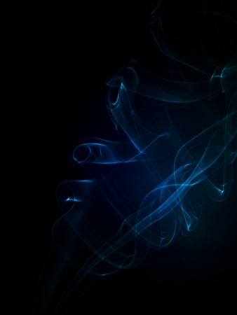 An image of smoke on black background Stock Photo - 18292448