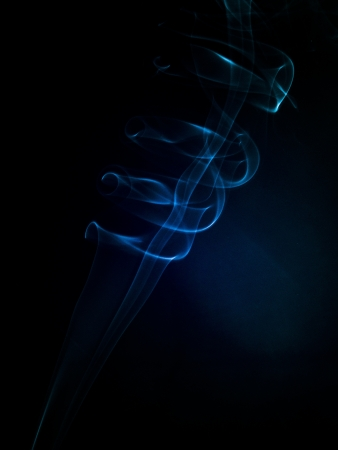 An image of smoke on black background Stock Photo - 18292450