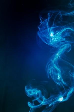 An image of smoke on black background Stock Photo - 18292423