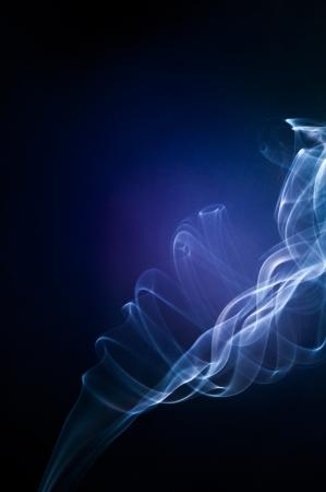 An image of smoke on black background Stock Photo - 18292440