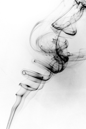 An image of smoke on black background Stock Photo - 18292422
