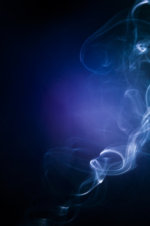 An image of smoke on black background Stock Photo - 18292446