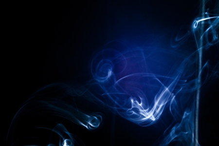 An image of smoke on black background Stock Photo - 18292456
