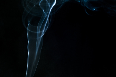An image of smoke on black background Stock Photo - 18292477