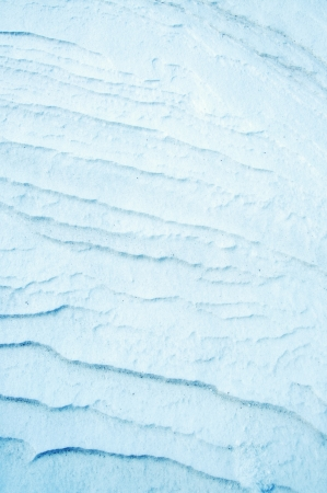An image of snow detail and shapes photo